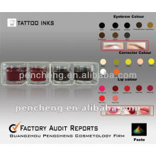 Permanent Make Up Pigment Tattoo Tinte alle Arten Farben
