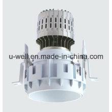 China New Frameless LED recesso luz com caixa branca
