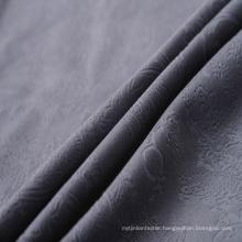 Follower Pattern Burnout Decorative Fabric for Sofa