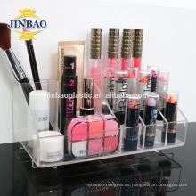 Jinbao acrílico maquillaje soporte organizador al por mayor 3mm 5mm
