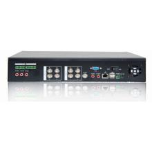 4CH autónomo de grabación digital CCTV red dvr (DVR-6004V)