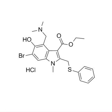 CAS 131707-23-8, clorhidrato de arbidol (HCL)