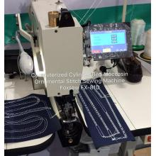 Computerized Moccasin Shoes Sewing Machine