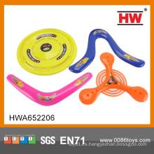PP de alta calidad 4 pequeños juguetes de deporte Frisbee formas para los niños