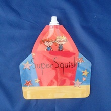 Food Packaging Plastic Stand up Bag with Pouch