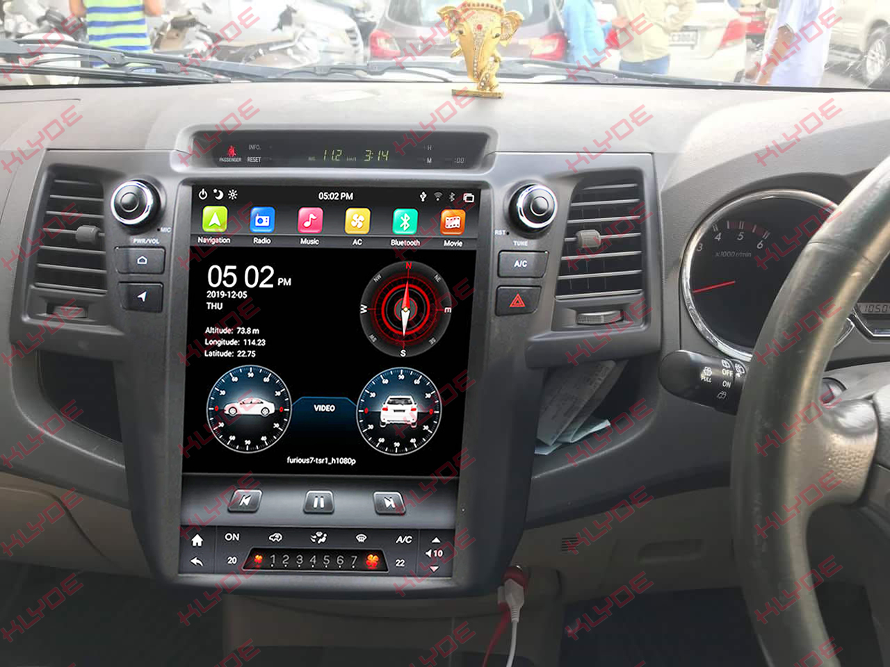 toyota fortuner 2015 double din car stereo android
