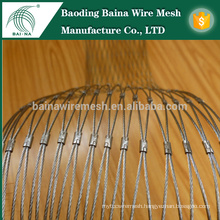 Hand Woven Stainless Steel Cable Mesh