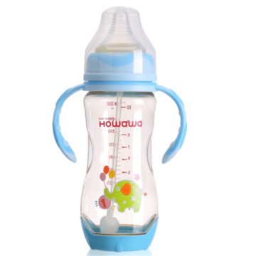 300ml Heat Sensing Baby Nursing Milk Holder Botol