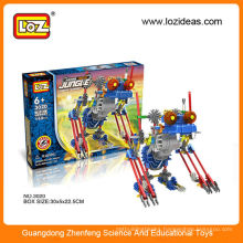 Plastic Brick Toys electricity robot set china factory toys