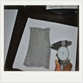 316 6*8 stainless steel dish chainmail scrubber