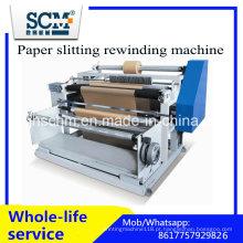 Paper Slitting Máquina de rebobinamento / Máquina de corte automática de papel térmico