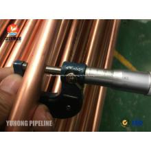 Tube en cuivre sans soudure JIS H3300 C1220T 1 / 2H