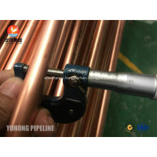 Seamless Copper Tube JIS H3300 C1220T 1/2H