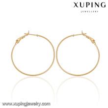 92077-Xuping Bijoux Mode Boucles d'oreilles populaires avec plaqué or