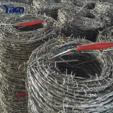 Hot sales 200m 400m hot dip galvanized, stainless steel barbed wire roll