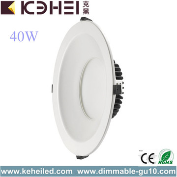 40W 10 tums vit LED Downlights CE RoHS