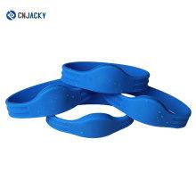 NFC Paper Wristband and PVC Wristband One Time Use RFID Wristband / shenzhen