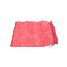 Dapoly eco friendly customize all colors firewood mesh bag with drawstring firewood onion pp mesh bags