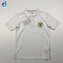 белые спортивные рубашки кампуса узкого кроя на заказ