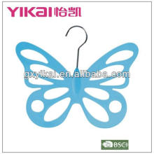 plastic butterly scarf hanger with 12 holes