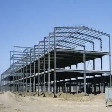 Construção barata da estrutura da armação de aço do período único