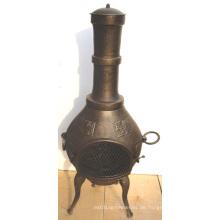 BBQ, Firepit Gusseisen Chiminea (FSL002), Gusseisen Chimenea