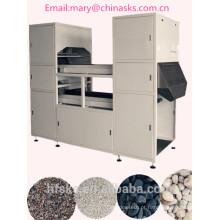 Máquina de classificador de cor mineral com câmera CCD