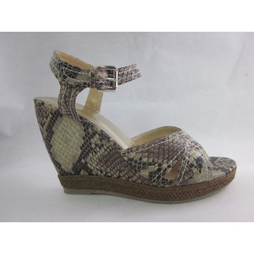2016 New Style of Wedge Women Sandals (HCY03-060)