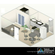 Netherlands Antilles Container House Project
