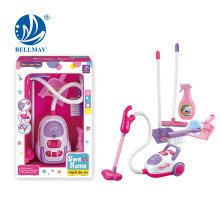 New Product Funny Small Cleaning Set Vacuum Cleaner Sanitary Ware Hoover Set Toy
