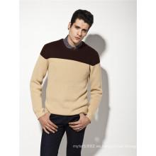Manufactory lana de jersey de acrílico Man Knitwear