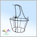 Home Garden decoration powder coated antique metal wire flower stand