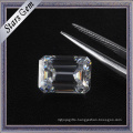 Excellent Cut Wholesale Octagon Shape Emerald Cut High Quality Moissanite