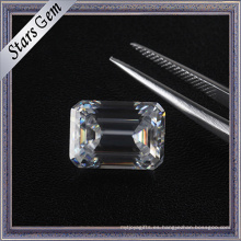 6.5X5mm 1.0 quilate Emerald Cut Vvs Clarity DF Color Moissanite Diamond para la venta