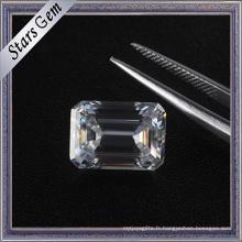 6.5X5mm 1.0 Carat Taille Émeraude Vvs Clarté DF Couleur Moissanite Diamant à vendre