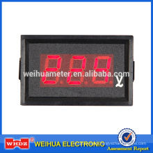 Digital Panel Meter PM50 with Parameter Custom design with Drilling installation