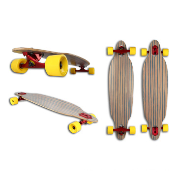 Fiber Glass+Canadian Maple Longboard (LCB-112)