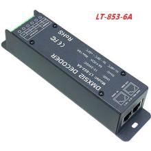 LEDENET 3CH x 6A DMX-PWM Décodeur Conducteur De Tension Constant Convertir DMX512 Signal Numérique à PWM Signal CV Contrôleur