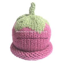 New Design Fashionable Hand Knit Baby Children Hat