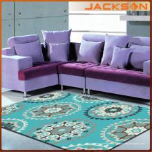 Alfombra de alfombra hecha en casa