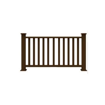Hot sale WPC composite handrail waterproof WPC outdoor balustrades