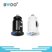 Commerce de gros Mini chargeur de voiture adaptateur USB double pour Smartphone