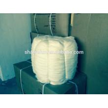Hochwertige chinesische Angora Kaninchen Tops weiß 15.0MIC / 45MM