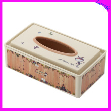 Notch Top Rectangle Plastic Tissue Boxes (FF-5056-1)