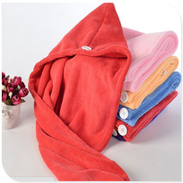 Set Bamboo Fibre Hair Towel Wrap Oem