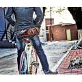 Sac de vélo Vintage Bike Bicycle Saddle.Stylish Sac de vélo de siège en cuir PU