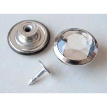 Серебро Перемещение Кнопки Джинсы B297