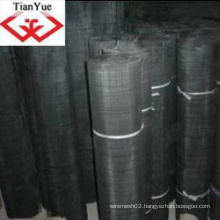 Relible Quality Black Wire Cloth (TYD-0080)