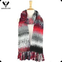Bufanda popular policromada de invierno de alta calidad de las señoras