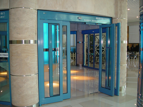 Automatic Sliding Doors with Panic Breakout